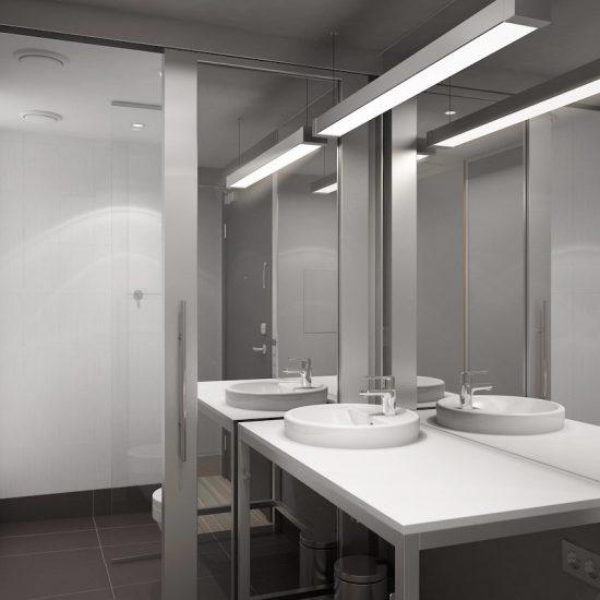 Guest Bathroom - Hotel Aloft Kiev