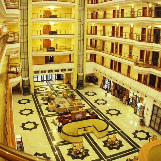 Hotel Registan Plaza Lobby