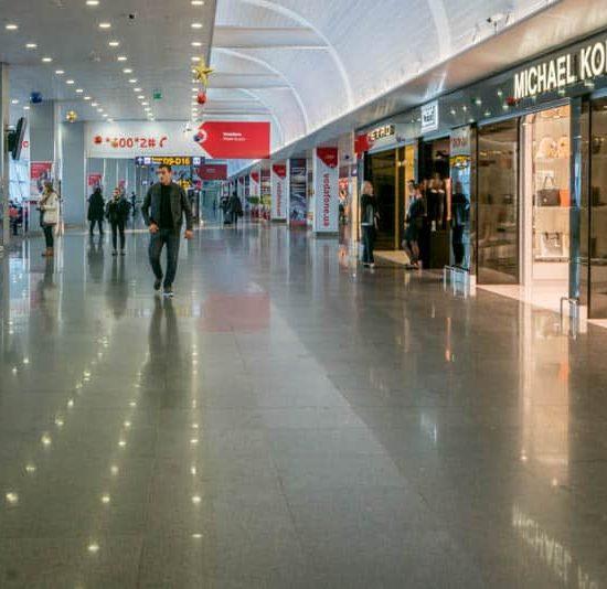 Lobby - Boryspil International Airport