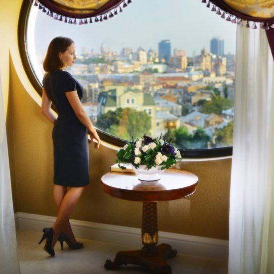 Outside View - Intercontinental Kiev