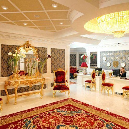 Reception - Hotel Royal Olympic