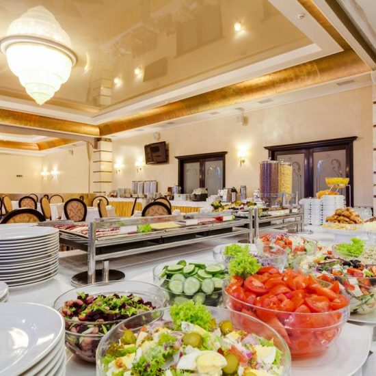 Restaurant - Hotel Ukraine