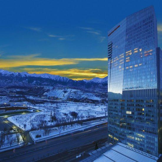 Ritz Carlton Almaty front