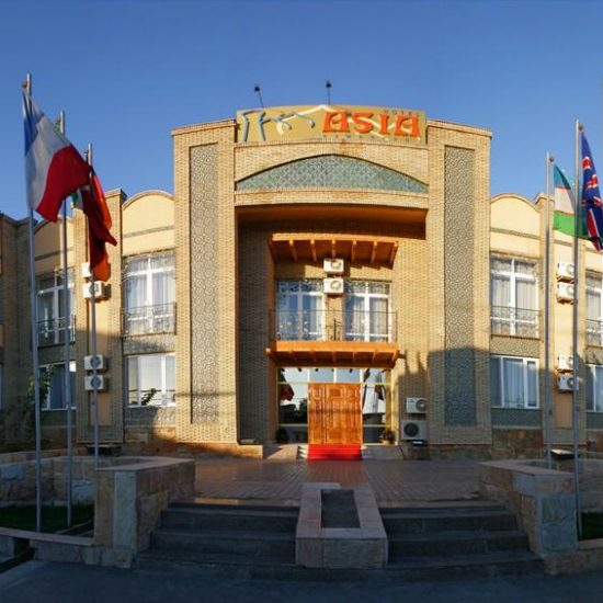 Hotel Asia Samarkand front View