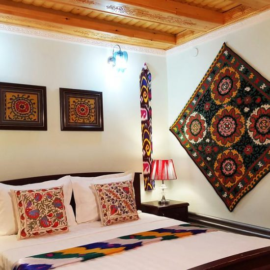 Jahongir Hotel bedroom