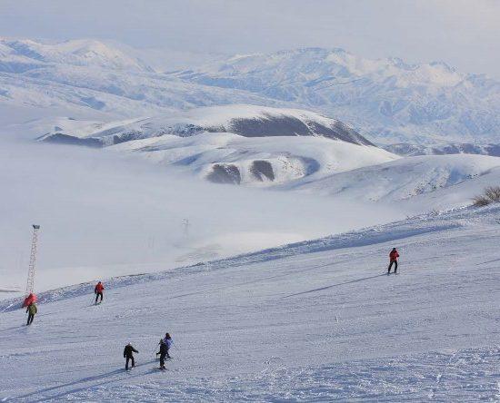 Orlovka Ski Resort Near Bishkek