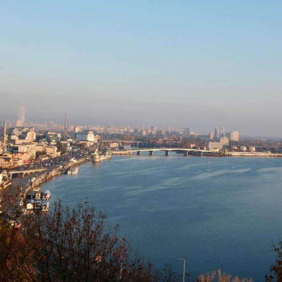 River Dnipro Kiev