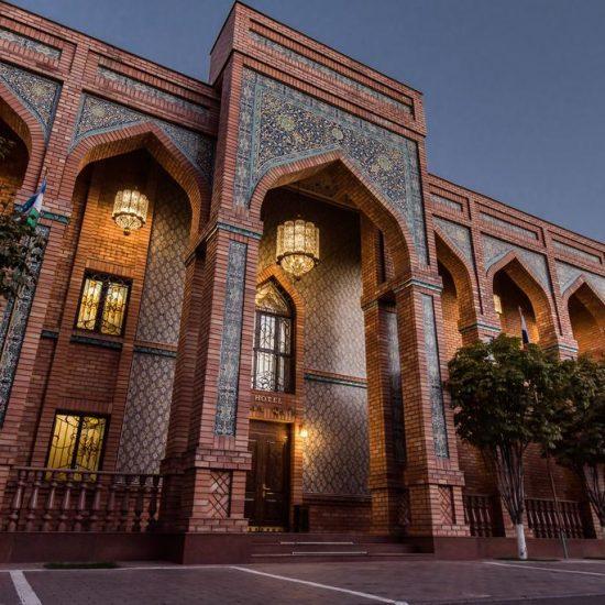 Ichan Qala Hotel - Front View