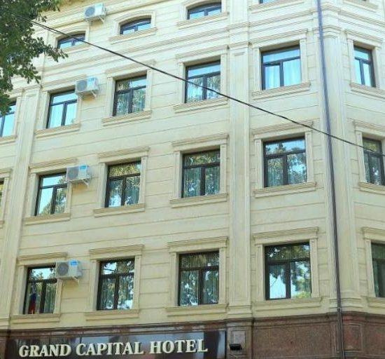 Hotel Grand Capital - Front View